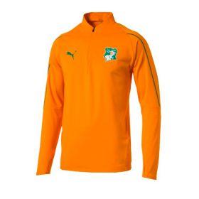 Ivory Coast Training 1/4 Zip Top - Orange