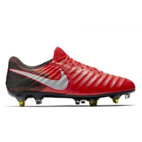 Nike Tiempo Legend VIII Anti-Clog Soft Ground Pro Football Boots - Red