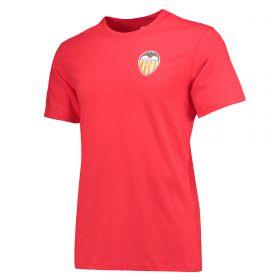 Valencia CF Classic T-Shirt - Red - Mens