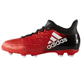 adidas X 16.1 Firm Ground Football Boots - Red/White/Core Black - Kids
