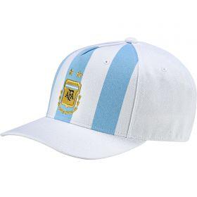 Argentina Home Flat Cap - White