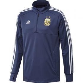 Argentina Training 1/4 Zip Top - Purple
