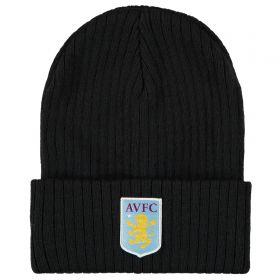 Aston Villa Knit Beanie - Black