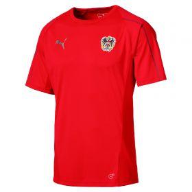 Austria Training Jersey - Red