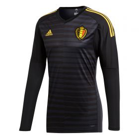 Belgium Home Goalkeeper Shirt 2018 with Courtois 1 printing
