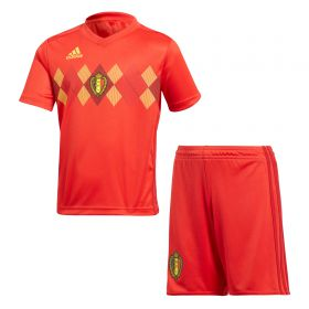 Belgium Home Mini Kit 2018 with Lukaku 9 printing
