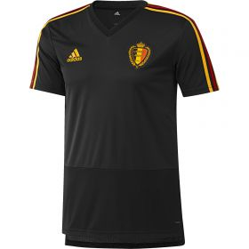 Belgium Training Jersey - Black