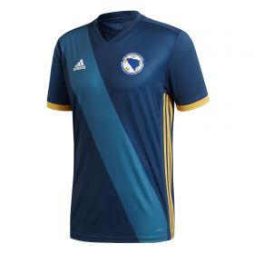 Bosnia-Herzegovina Home Shirt 2018 with Džeko 11 printing