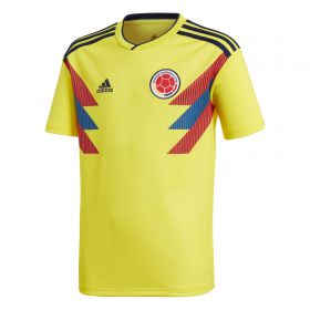 Colombia Home Shirt 2018 - Kids with James 10 printing