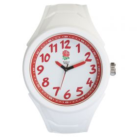 England Silicone Strap Watch