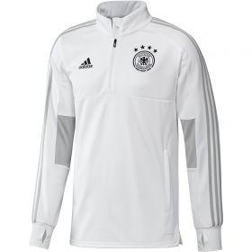 Germany Training 1/4 Zip Top - White