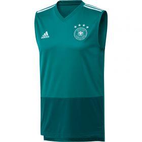 Germany Training Sleeveless Jersey - Green