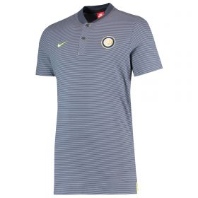 Inter Milan Authentic Grand Slam Polo - Blue