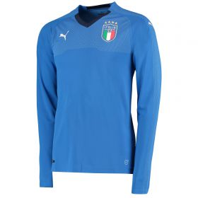 Italy Home Shirt 2018 - Long Sleeve