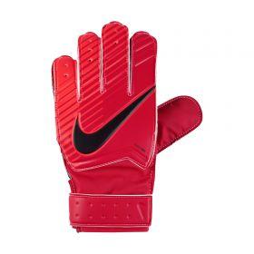 Nike Match Goalkeeper Football Gloves - Red - Kids