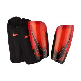 Nike Mercurial Lite Shinguards - Red