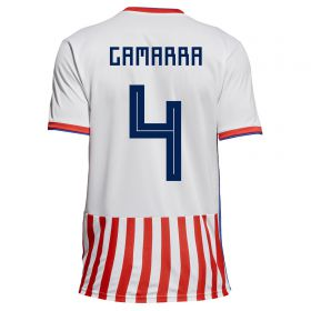 Paraguay Home Legends Shirt 2018 with Gamarra 4 printing