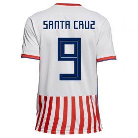 Paraguay Home Legends Shirt 2018 with Santa Cruz 9 printing