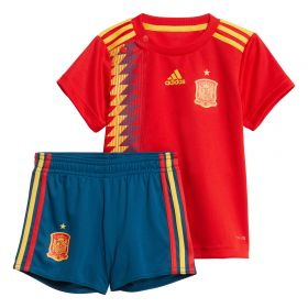 Spain Home Baby Kit 2018 with A.Iniesta 6 printing