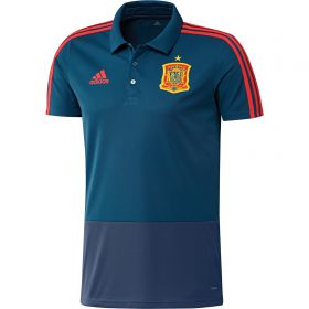 Spain Training Polo - Blue