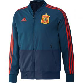 Spain Training Presentation Jacket - Blue