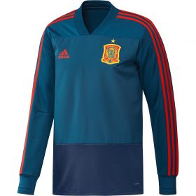 Spain Training Top - Blue