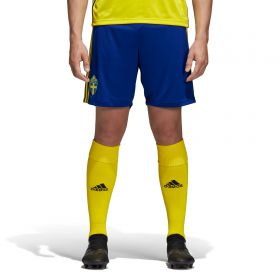 Sweden Home Shorts 2018 - Kids