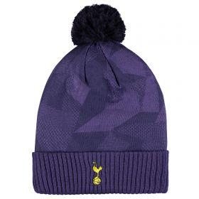 Tottenham Hotspur Crest Beanie - Purple