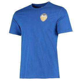 Valencia CF Classic T-Shirt - Cobolt Blue - Mens