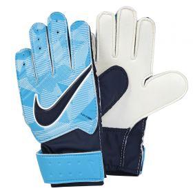 Nike Match Goalkeeper Football Gloves - Blue - Kids