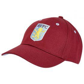 Aston Villa Classic Cap - Claret - Junior