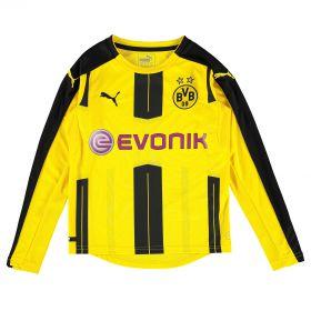 BVB Home Shirt 2016-17 - Long Sleeve - Kids