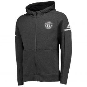 Manchester United Away Anthem Jacket - Dark Grey