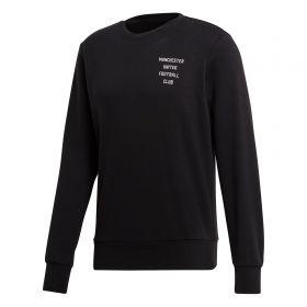 Manchester United Crew Neck Sweatshirt - Black