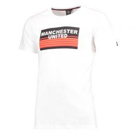 Manchester United Final T-Shirt - White - Mens