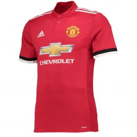 Manchester United Home Adi Zero Shirt 2017-18 with Bailly 3 printing