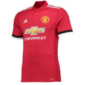 Manchester United Home Adi Zero Shirt 2017-18 with Lukaku 9 printing