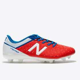 New Balance Visaro Control Firm Ground Football Boots - Atomic - Kids