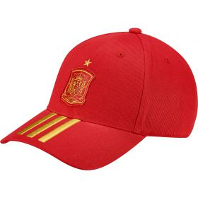Spain 3 Stripe Cap - Red
