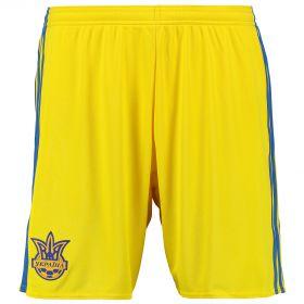 Ukraine Home Shorts 2016 - Yellow