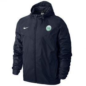 VfL Wolfsburg Rain Jacket - Blue - Kids