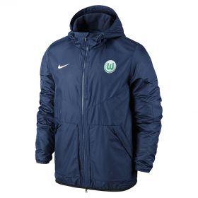 VfL Wolfsburg Stadium Jacket - Blue - Kids
