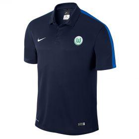 VfL Wolfsburg Training Polo - Blue