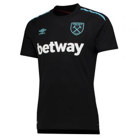 West Ham United Away Shirt 2017-18 with Carroll 9 printing