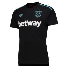 West Ham United Away Shirt 2017-18 with Sakho 15 printing