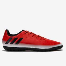 adidas Messi 16.3 Astroturf Trainers - Red/Core Black/White - Kids
