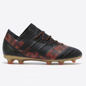 adidas Nemeziz 17.1 Firm Ground Football Boots - Black - Kids
