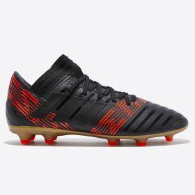 adidas Nemeziz 17.3 Firm Ground Football Boots - Black - Kids
