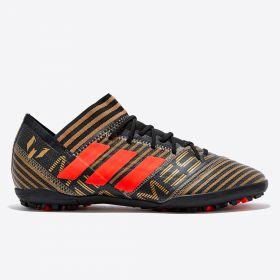 adidas Nemeziz Messi Tango 17.3 Astroturf Trainers - Black
