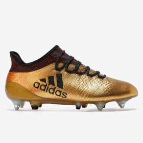 adidas X 17.1 Soft Ground Football Boots - Gold